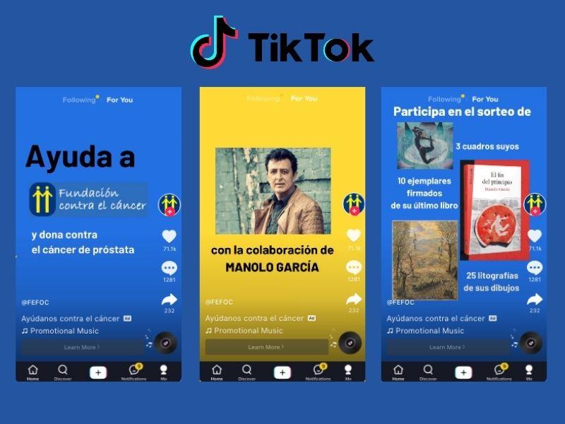 FEFOC campaign with Manolo García in TikTok
