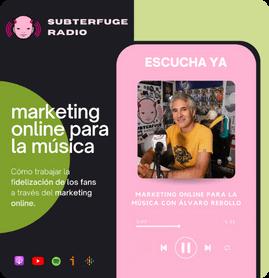 Marketing online para la música Podcast