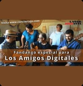 Fandango para los amigos digitales de Conciertajo