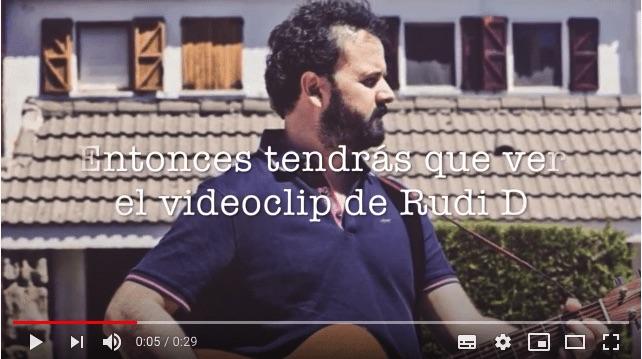 Spot de Rudi D en YouTube