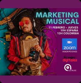 Marketing Digital en la Industria de la Música